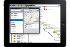 AthensTransit iPad