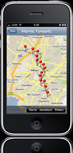 LineGoogleMap_iPhone