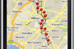 AthensTransit iPhone